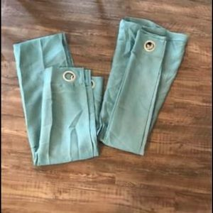 🌿FINAL PRICE! SET OF BLUE CURTAINS